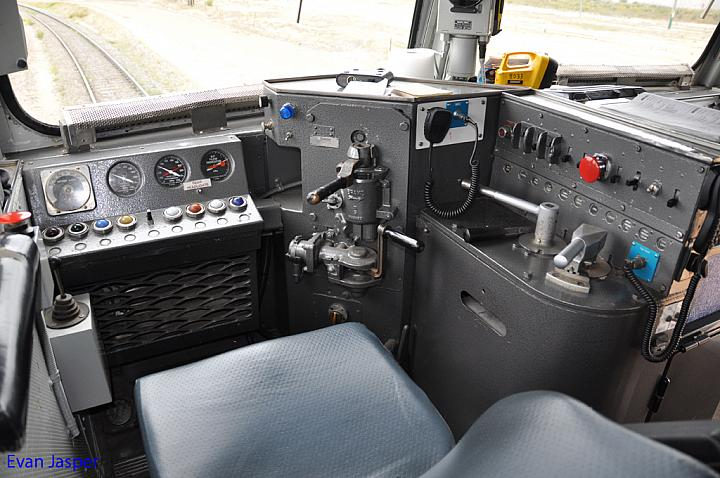 80 class cab control layout