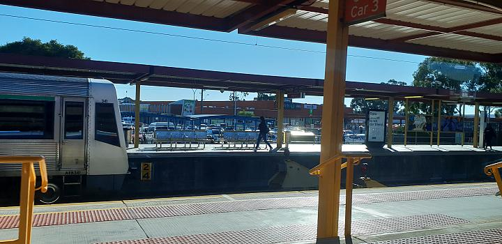 My rail trip on the Avonlink between East Perth and Merredin on the 13th August 2018 (Midland)