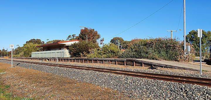 Cranbrook Station on the GSR (Great Southern Railway) 1st September 2019