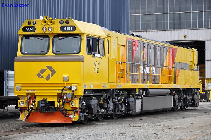 ACN4151 at Forrestfield Yard on the 13th November 2011