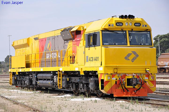 ACB4401 at Forrestfield Yard on the 26th November 2011