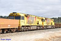 ACC6030 and ACC6031 as DPU units on 7414 iron ore on the 12th November 2016