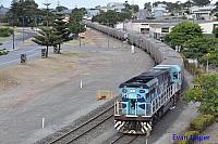 CBH017 on 1A83 loaded CBH grain train seen here arriving into Albany on the 15th February 2015