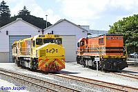 DBZ2309, DBZ2311 and DBZ2310 seen here stabled at Albany Depot on the 14th February 2015