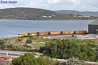 DBZ2311 on 3606 woodchip train seen here unloading at the Albany Port on the 3rd September 2019