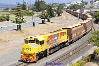 DBZ2311 on 6603 loaded woodchip train seen here arriving into Albany on the 13th February 2015