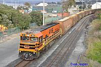 P2503 on 6601 loaded woodchip train seen here arriving into Albany on the 30th October 2015