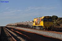 ACN4146 bringing up the rear of 7765 loaded iron ore train on the 1st December 2012