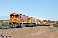 P2516, P2514 and P2505 on 2720 empty Mount Gibson iron ore train seen here heading though Kojarena on the 1st July 2019