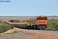 P2516 and P2508 on 7720 empty Mount Gibson iron ore train seen here heading though Erandu on the 25th January 2020