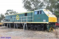 U201 is seen here at the Hotham Valley Railway yard in Pinjarra on the 30th August 2014