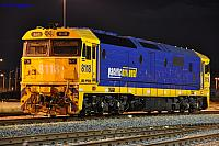 8118 sits under lights at PFT Kewdale Yard on the 22nd June 2013
