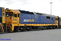 8118 at Perth Freight Yard Kewdale getting ready to be sent to Melbourne on the 10th September 2014