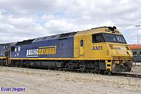 AN11 sitting at PFT Kewdale waiting its next job on the 20th February 2015