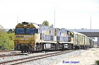 NR105 and NR20 on 3P51 sadliers shunt seen here at Forrestfield South on the 29th November 2016