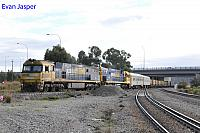 NR107 and NR79 on 3MP5 freighter seen here arriving into PFT Kewdale on the 1st September 2017