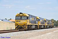 NR40, NR6, NR95 and NR121 on 2P21 loco Turn seen here at Thornlie returning to PFT Kewdale on the 2nd February 2015