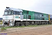 NR85 sits a Kewdale Yard on the 3rd October 2012