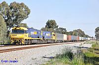NR89 and NR46 on 3PS7 freighter seen here at Hazelmere on the 13th September 2016
