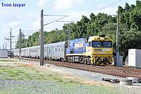 NR90 on 5AP8 Indian Pacific seen here heading though Bassendean for East Perth on the 4th May 2019