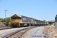 NR94 and NR13 on 5P51 sadliers shunt seen here at Forrestfield south on the 4th February 2016