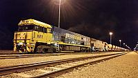 Class leader NR1 and MRL006 sits at Forrestfield yard waiting to be shunted into Kewdale on the 6th July 2016
