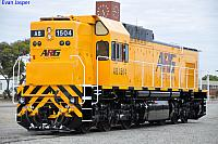 AB1504 at Forrestfield Yard on the 1st December 2010