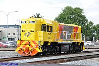 DAZ1901 on 6134 LE service from Forrestfield to Midland wokshops to pick up B set 5102 is seen here at Midland on the 17th October 2014