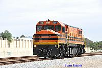 DBZ2304 on 4121 Light engine movement from Kwinana to Forrestfield seen here heading though Thornlie on the 29th October 2014
