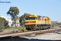 S3304 on 1121 light engine movement from Kwinana to Forrestfield seen here at Forrestfield South on the 27th August 2017