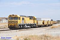 S3305 on 4121 empty ballast train seen here heading though Forrestfield south on the 21st January 2015