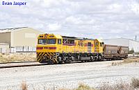 S3307 on 6120 wagon transfer from Kwinana to Forrestfield seen here at Forrestfield South on the 5th January 2018