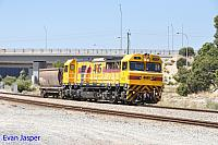 S3308 on 6120 Locomotive and wagon transfer seen here heading though Forrestfield South for Kwinana on the 26th January 2018