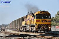 AC4301 on 5430 Sulphur train seen here passing Forrestfield south on the 19th September 2014