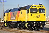 Just released from the paintshop is DC2205 at Forrestfield Yard on the 11th August 2011