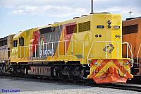 LZ3101 in the new QR National colours at Forrestfield Yard on the 22nd January 2011
