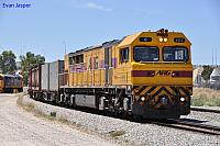 Q4012 on 4430 Sulphur train at Forrestfield South on the 15th November 2012