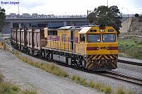Q4019 on 3430 Sulphur train at Forrestfield South on the 10th July 2013