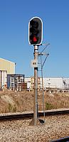 3 Aspect LED Signal without a LED Shunt Signal (Signal 48) This Type of signal is control by Train Control