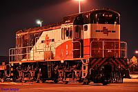 A night shot of H3 at Forrestfield Yard on the 20th October 2011