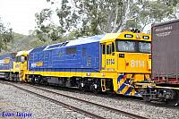 8114 on 2PM6 freighter seen here at Belair (SA) on the 9th April 2015