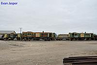 848, 871 and 865 is seen here at GWA's Port Lincoln Yard waiting its fate on the 10th April 2017