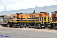 850 sits at Wadinna ready to depart with 2CG2 grain train on the 13th April 2015