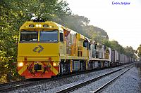 ACC6032, 6008 and 6027 on 2PM1 freighter at Hawthorn on the 23rd January 2013