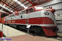 GM2 in Commonwealth railways livery seen here at the National Railway Museum in Adelaide 12th April 2017