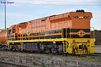 A close up shot of GWU007 at Dry Creek Yard on the 1st August 2012