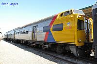 Ex Adelaide Metro's rail car 2006 now owned by the National railway museum in Adelaide 12th April 2017