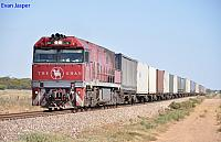 NR74 on 7AX7 freighter at Baroota on the 26th January 2013