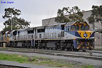 VL359 and VL358 sits at Dry Creek Yard on the 9th August 2012