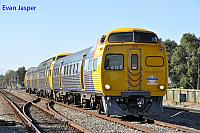 TransAdelaide railcars 2116/2006/2112 is seen here running empty though Unley Park back to Dry Creek on the 12th November 2013